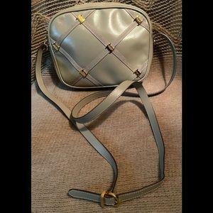 Vintage Salvatore Ferragamo Leather Camera Bag